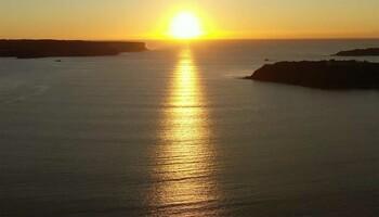 Sonnenaufgang Balmoral Beach